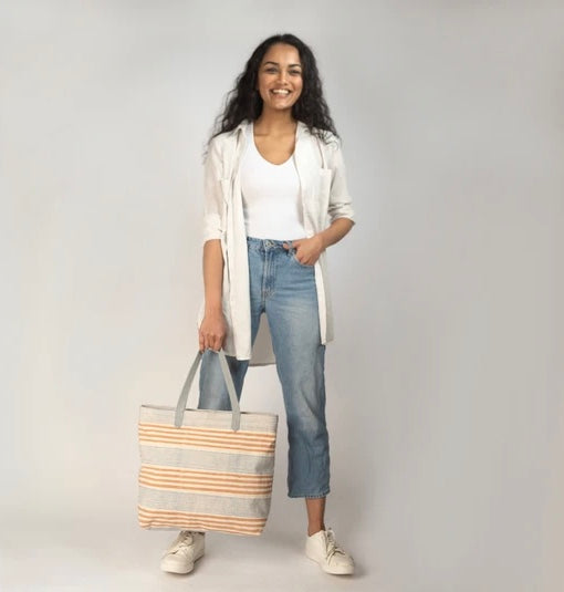 Chaaya Canvas Tote - Earth and Sky