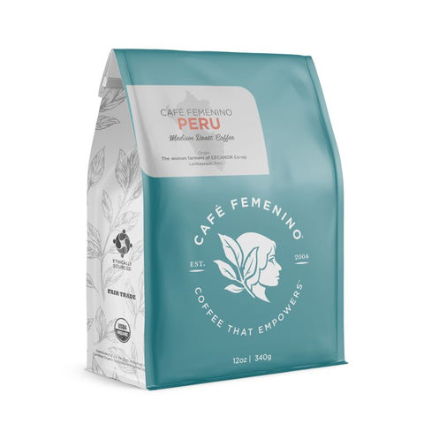Cafe Femenino Peru Medium Roast/Whole Bean