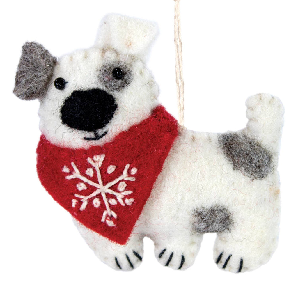 Snowflake Patches Ornament