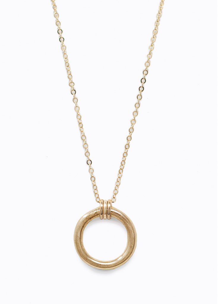 Gold Celine Necklace