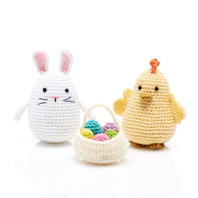 Crocheted Easter Bunny/Chick/Basket