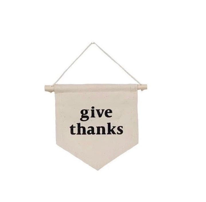 Give Thanks Wall Hanging  -Small