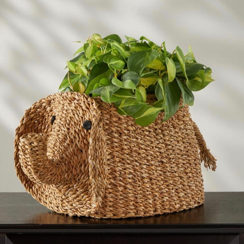 Hogla Elephant Basket (Local Pickup/Local Delivery Only*)