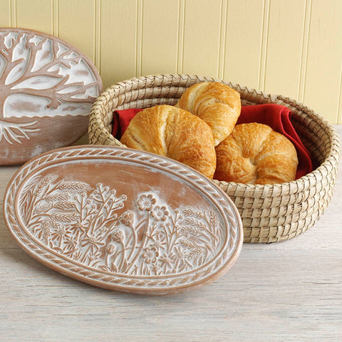Spring Meadow Bread Warmer & Basket (Local Delivery/Pickup Only)