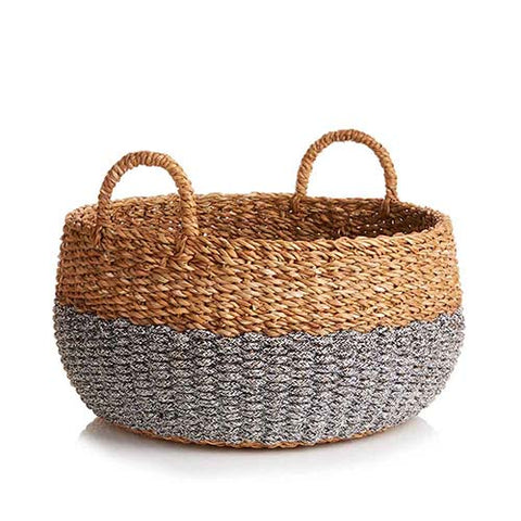 Hogla Two-Tone Basket- Large (Local Pickup/Local Delivery Only)