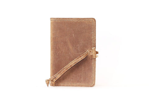 Leather NIV Bible - chocolate
