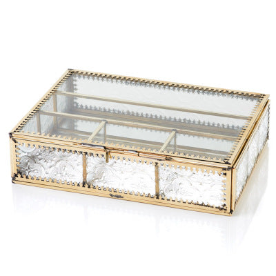 Jadani Glass Keepsake Box