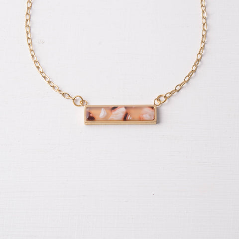 Ada Resin Necklace