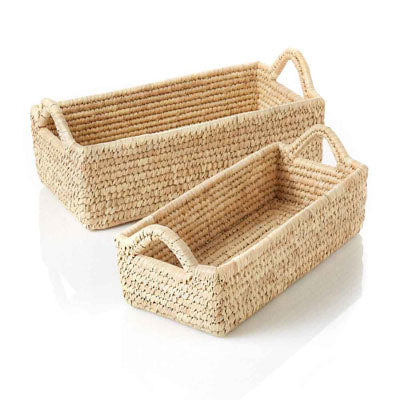 Long Handled Kaisa Basket - Large