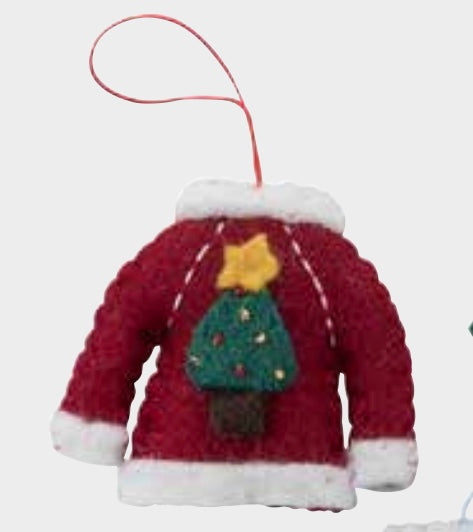 Christmas Ornament - Tree Sweater