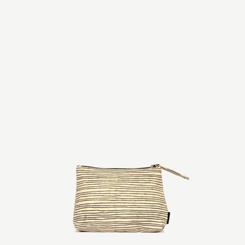 Meena Small Rustic Pinstripe Pouch