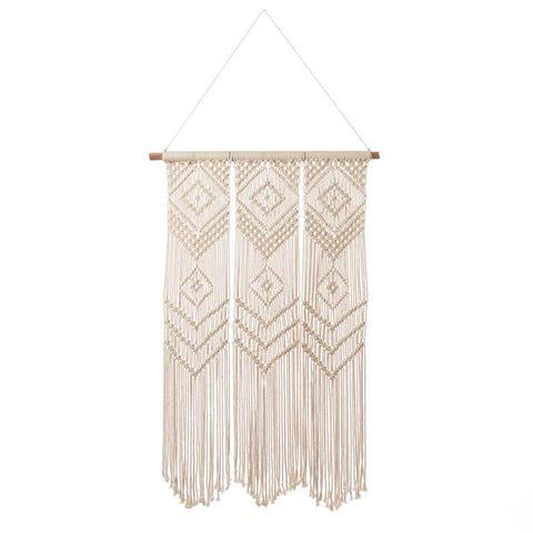 Triptych Macramé Wall Hanging (Local Pickup/Local Delivery Only)