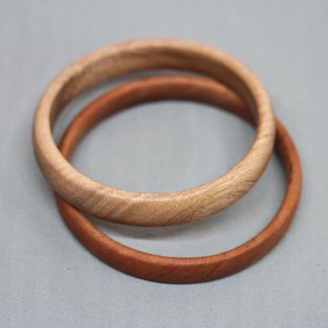Mango and Oak Bangle Bracelet Set