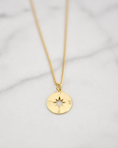 Lucy Necklace - Compass