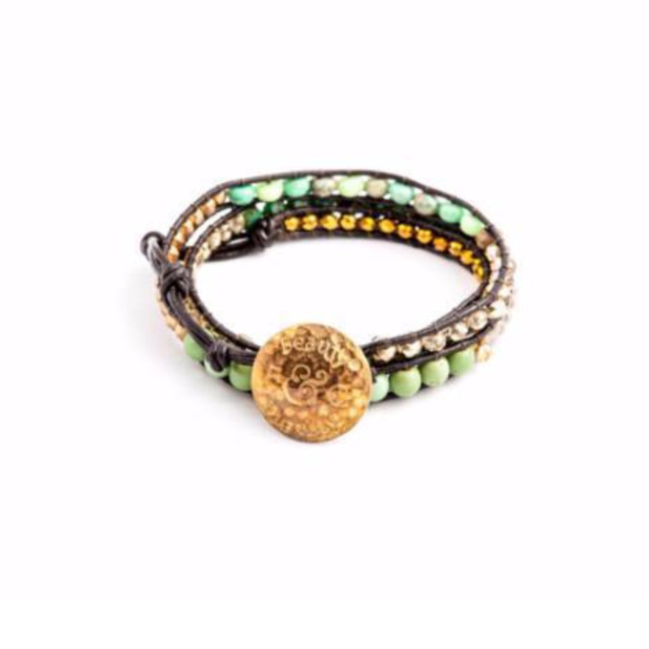 Ray of Life Wrap Bracelet