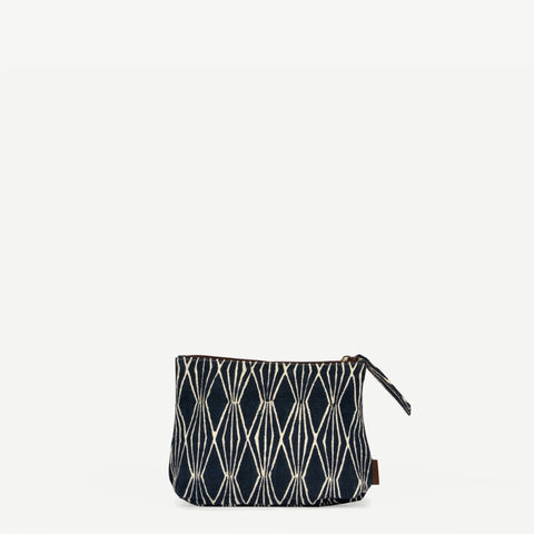 Meena Small Noble Blue Pouch