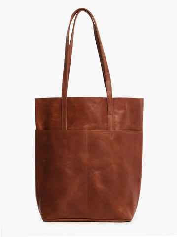 Salem Magazine Tote - Whiskey
