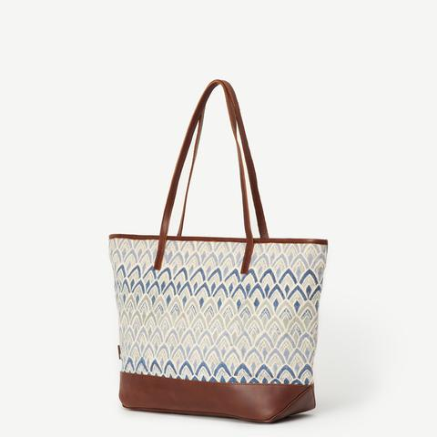 Agaja Signature Print Tote (Local Pickup/Local Delivery Only)