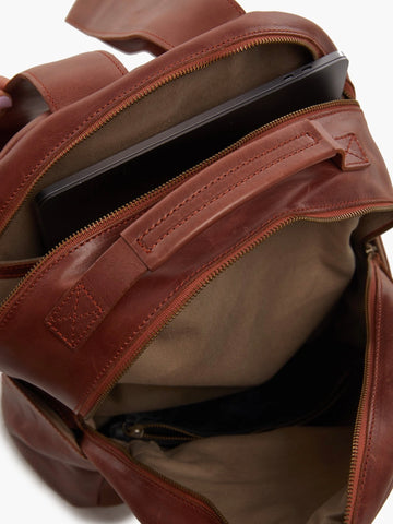 Alem Backpack: Whiskey