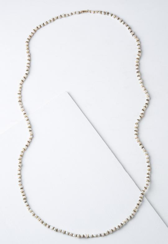 Judith Gold Pearl & Iron Necklace