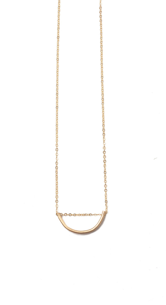 Arch Necklace- Gold