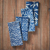 Indigo Dabu Napkins - set of 4