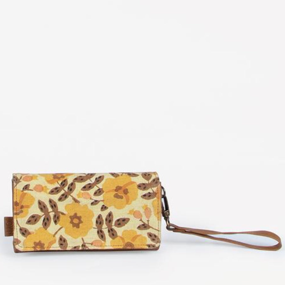 Vanya Golden Blossom Vegan Wallet