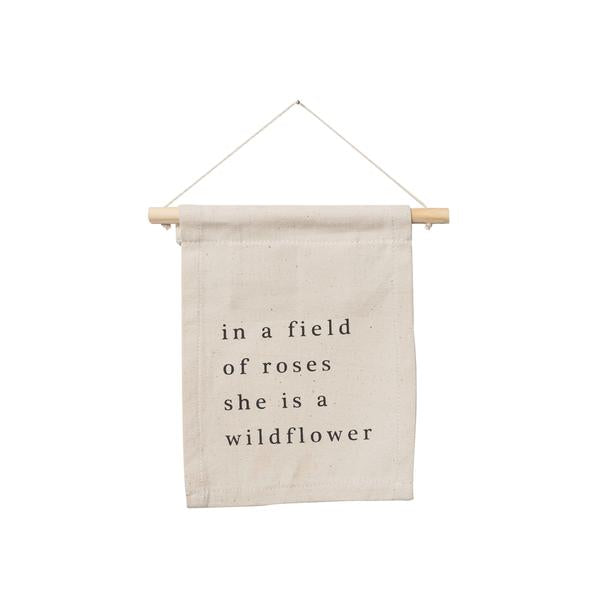 Wildflower Wall Hanging  -Small