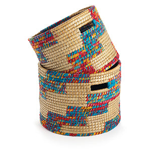 Chindi Stairstep Basket (Local Pickup/Local Delivery Only*)