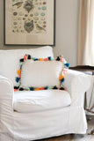 Tassel Throw Pillow - Fun