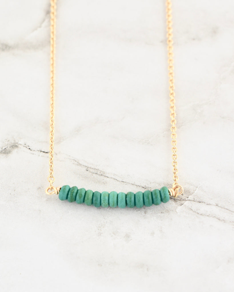 Finley Necklace - Turquoise