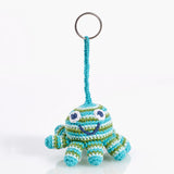 Green Octopus Keychain