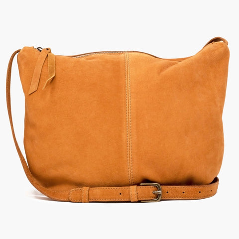 Jenifer Crossbody: Cognac