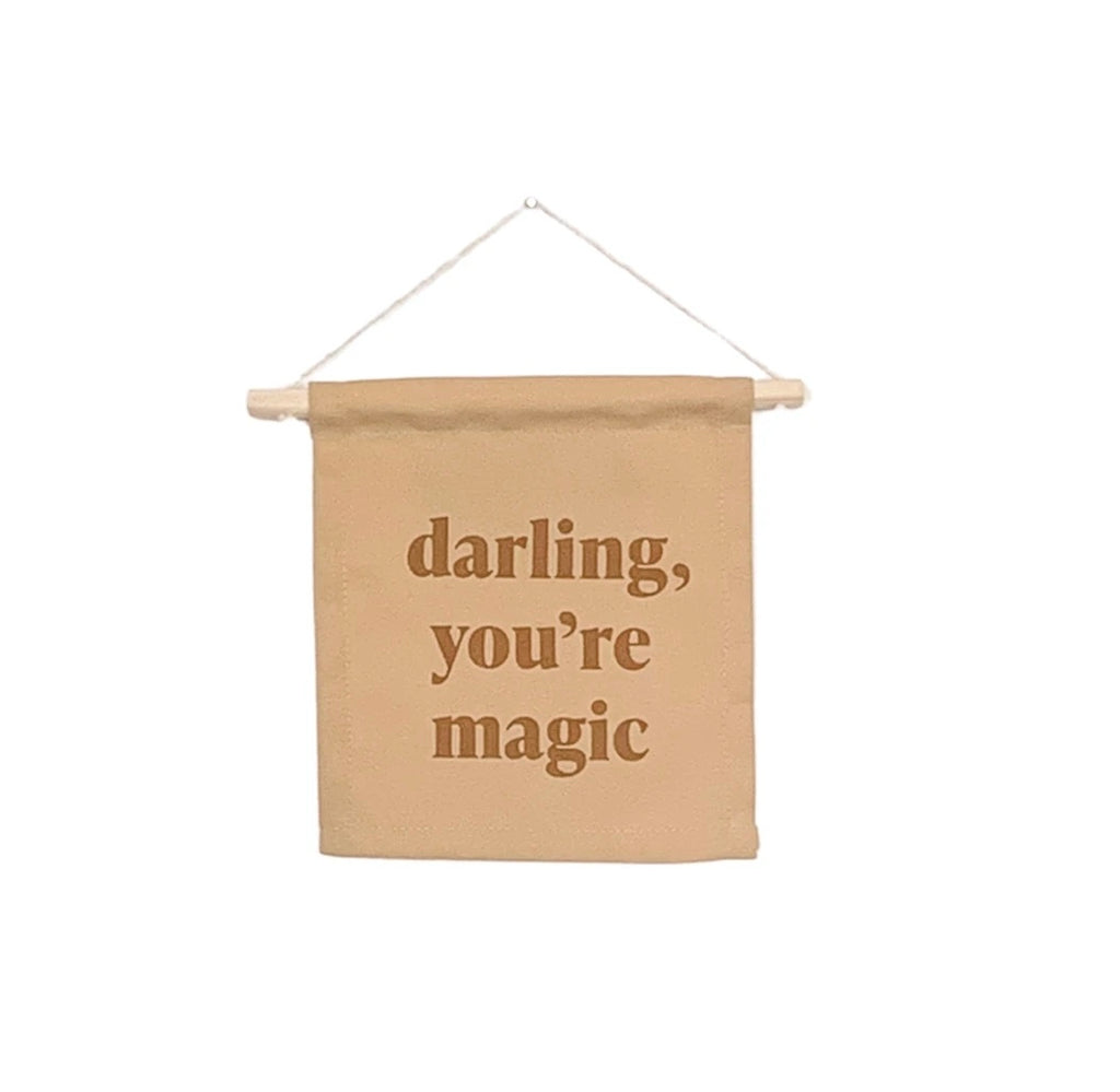 """Darling you're Magic"" Banner"