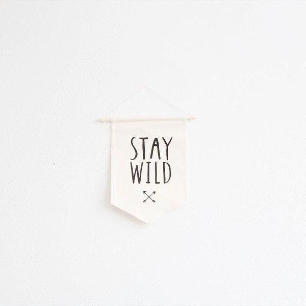 Stay Wild Wall Hanging - Large