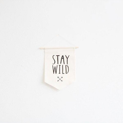 Stay Wild Wall Hanging - Small