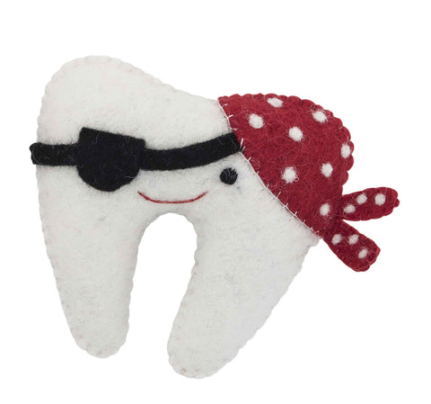 Tooth Fairy Pillow - Pirate
