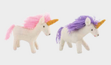 Felted Unicorn Doll