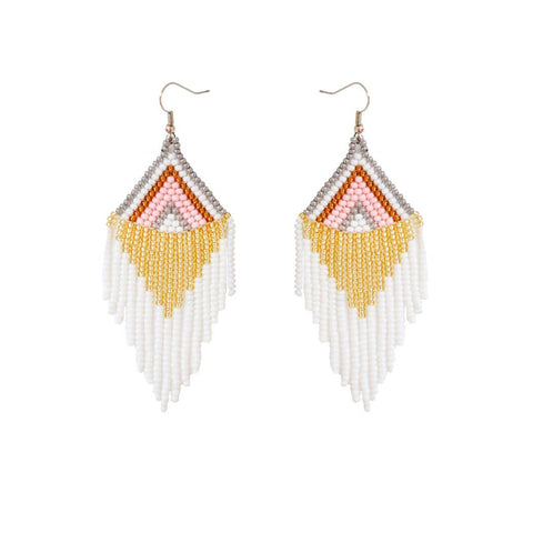 FOSTERIE - Rosavie Beaded Earrings