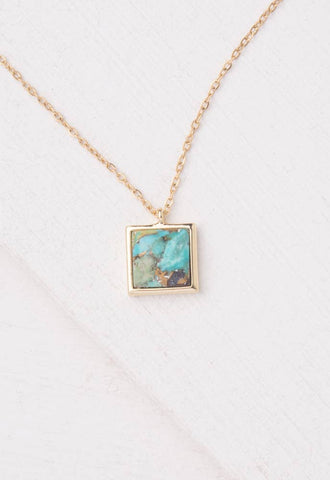 Starfish Project, Inc - Candice Turquoise Pendant Necklace