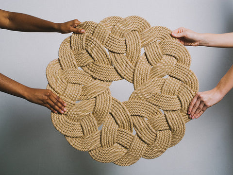 Round Jute Rug (Local Pickup/Local Delivery Only*)