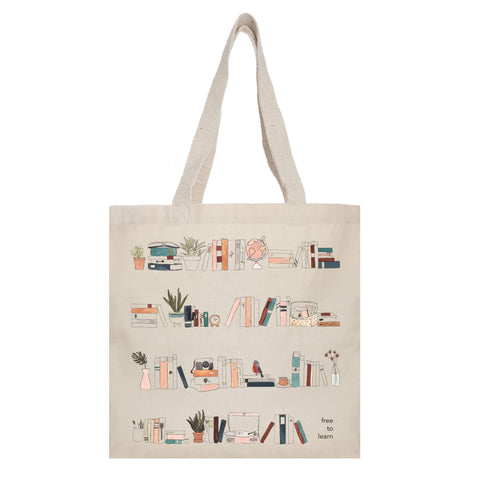 Free to Learn Tote Bag