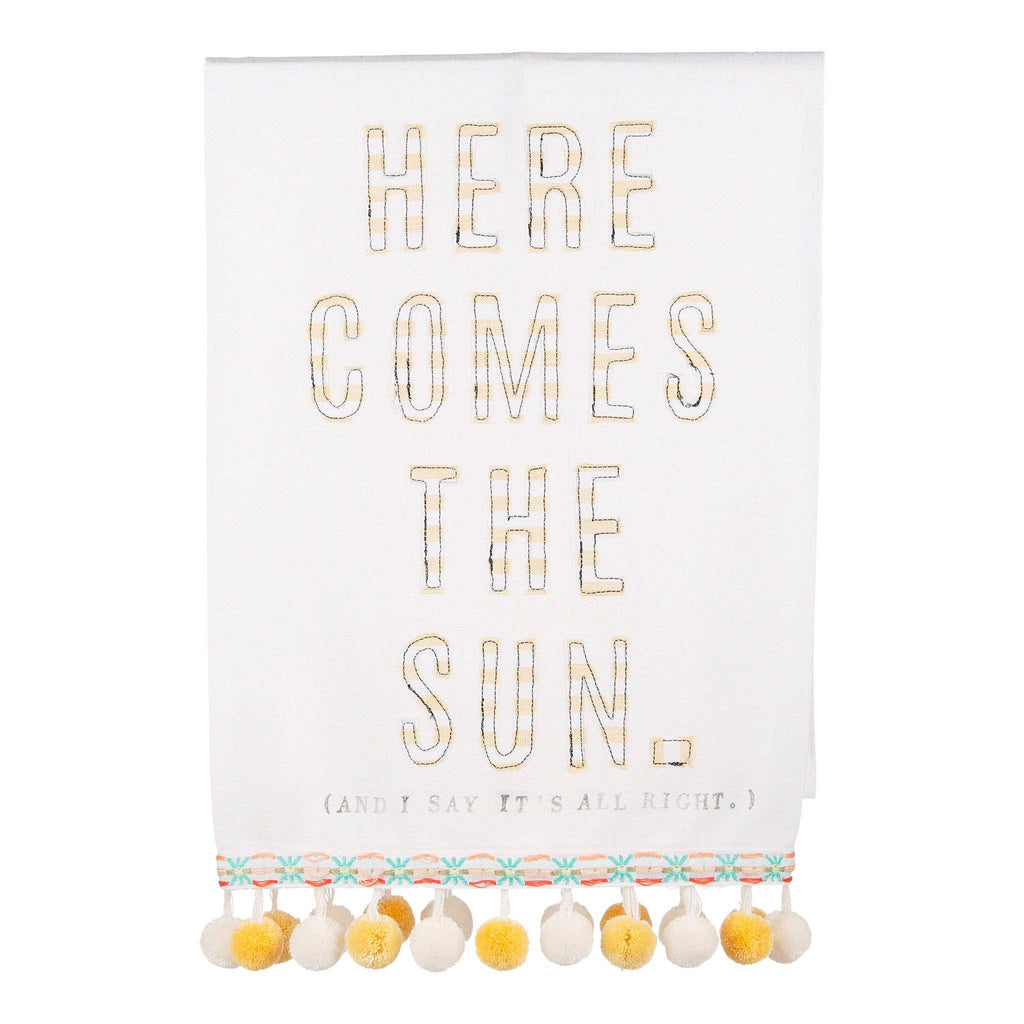 Here Comes the Sun Tea Towel
