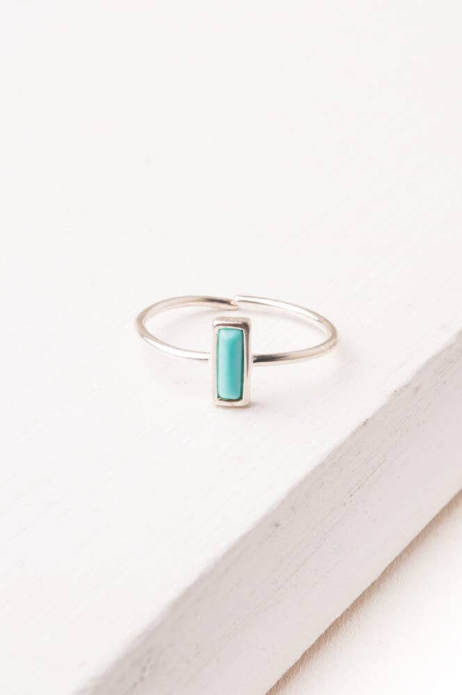 Starfish Project, Inc - Anna Brett Silver & Turquoise Ring