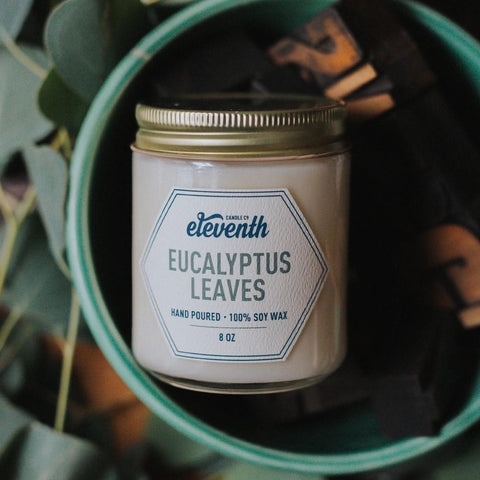 Eucalyptus Leaves Candle