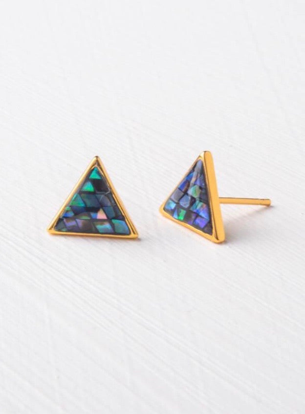 Known - Abalone Earrings