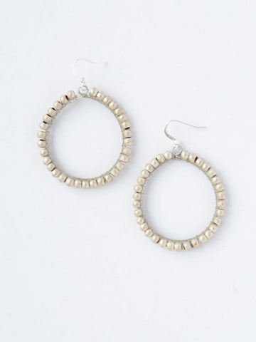 Eclipse Artillery Hoops Earrings