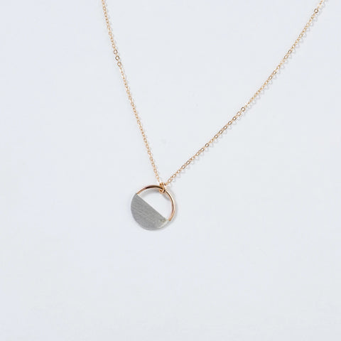 Rumi Necklace - Two Tone