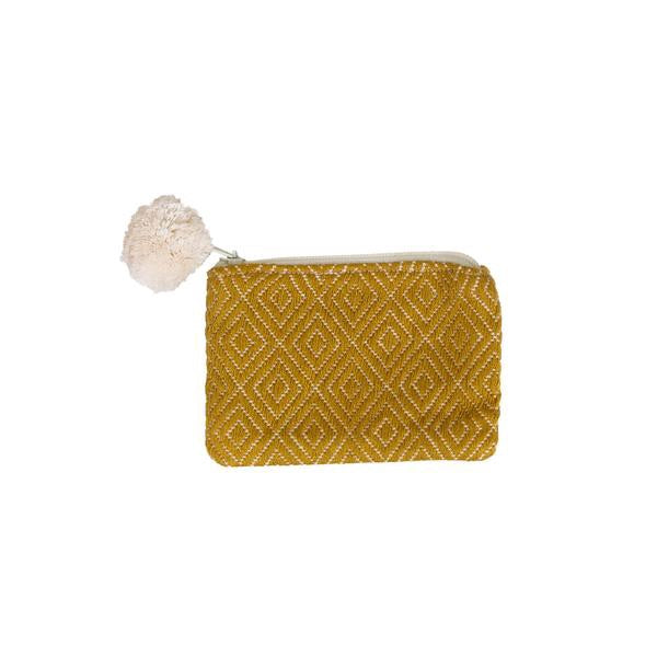 Mustard Falseria Coin Purse