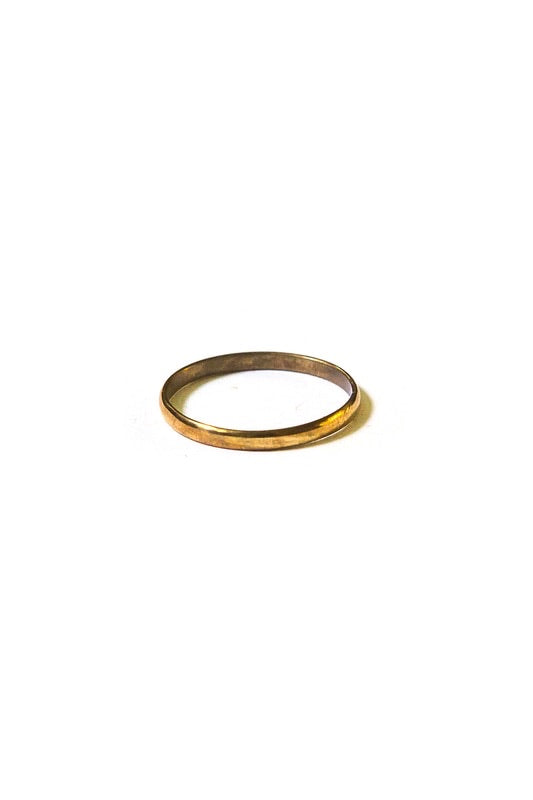 Brass Stacking Ring - Solid